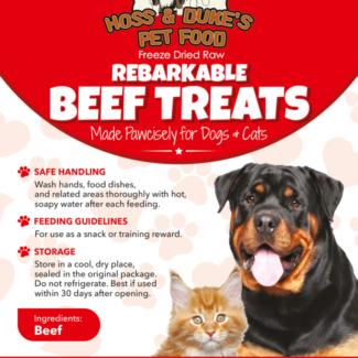 Rebarkable Beef Treats
