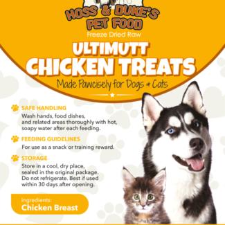Ultimutt Chicken Treats