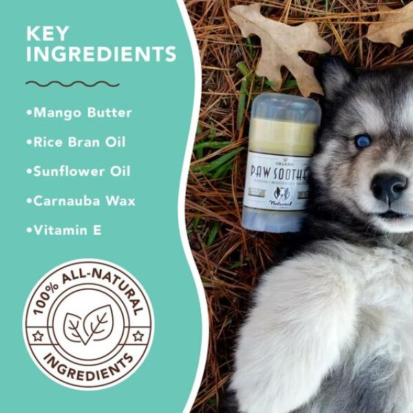 paw soother for dogs ingredients