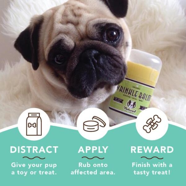 Wrinkle Balm for dogs information application