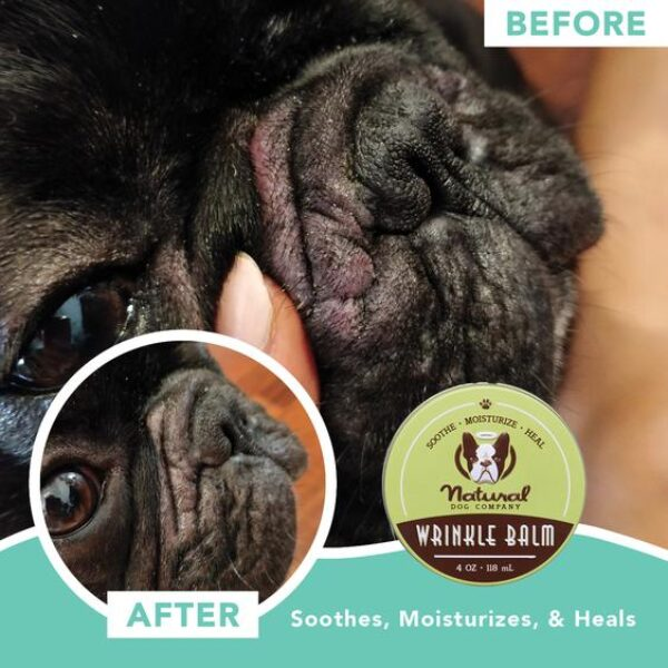 Wrinkle Balm for dogs information
