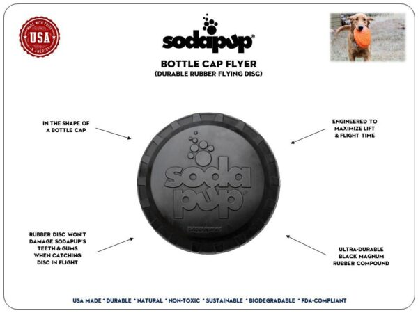 Ultra Durable Dog Frisbee information