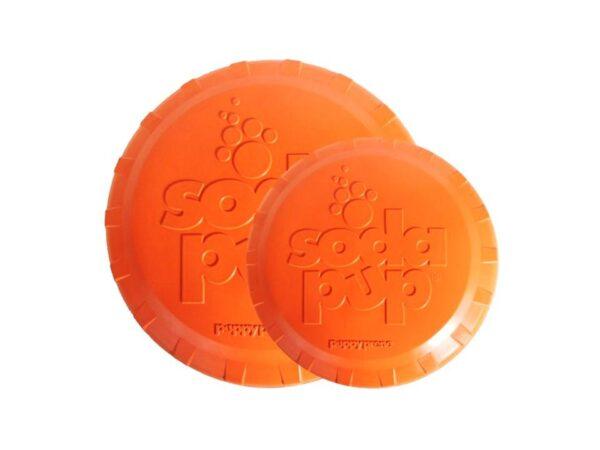Bottle Top Dog Frisbee 2 sizes
