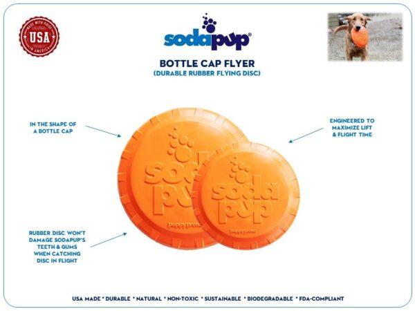 Bottle Top Dog Frisbee information