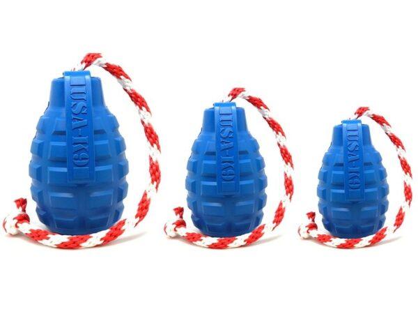 USA-K9 Grenade Dog Toy medium large extra large