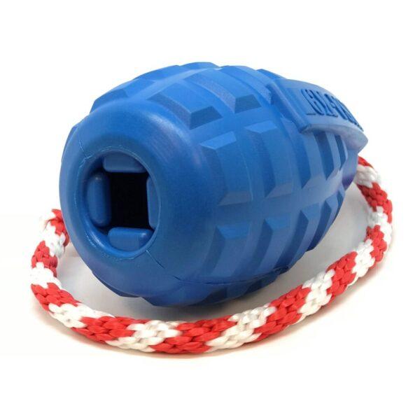 USA-K9 Grenade Dog Toy on side