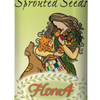 FLORA4 GROUND SPROUTED SEEDS FOOD TOPPER